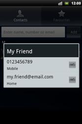Sony Ericsson Xperia Mini Pro - Mms - Sending a picture message - Step 6