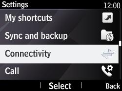 Nokia Asha 210 - Internet - Enable or disable - Step 4