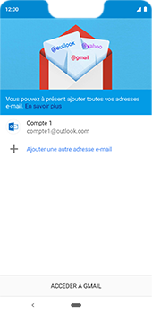 Google Pixel 3XL - E-mail - 032c. Email wizard - Outlook - Étape 12