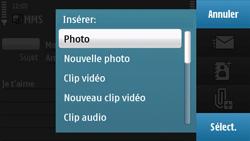 Nokia N97 - MMS - Envoi d