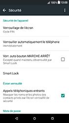 HTC Desire 650 - Sécuriser votre mobile - Activer le code de verrouillage - Étape 12