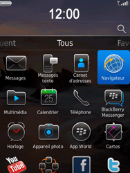 BlackBerry 9800 Torch - Internet - Navigation sur Internet - Étape 2
