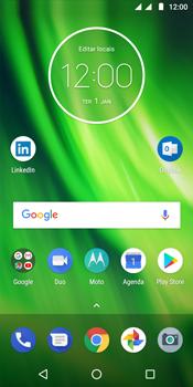 Motorola Moto G6 Play - Rede móvel - Como ativar e desativar o modo avião no seu aparelho - Etapa 1