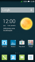 Alcatel Pixi 3 - Internet no telemóvel - Como ativar os dados móveis -  1