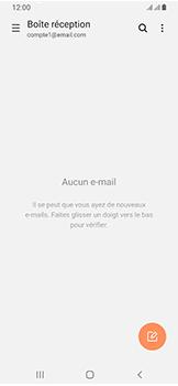 Samsung Galaxy A40 - E-mail - envoyer un e-mail - Étape 4