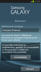 Samsung Galaxy Note 2 - Premiers pas - Créer un compte - Étape 2