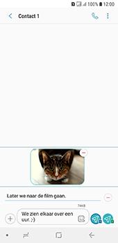 Samsung Galaxy A6 - MMS - afbeeldingen verzenden - Stap 19