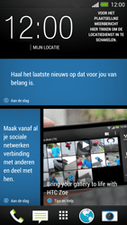 HTC One - Applicaties - Account aanmaken - Stap 1