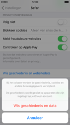 Apple iPhone 7 (Model A1778) - Privacy - Cookies en geschiedenis wissen - Stap 5