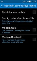 Samsung Galaxy Ace 4 - Internet et connexion - Utiliser le mode modem par USB - Étape 6