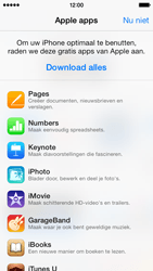 Apple iPhone 5 (iOS 8) - apps - account instellen - stap 3