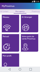 LG X Screen - Applications - MyProximus - Étape 19