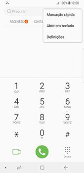 Samsung Galaxy S8 - Android Oreo - Chamadas - Como bloquear chamadas de um número -  5