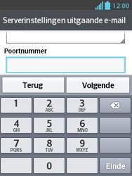 LG E430 Optimus L3 II - E-mail - Handmatig instellen - Stap 17