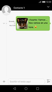 Huawei GX8 - Mensajería - Escribir y enviar un mensaje multimedia - Paso 19