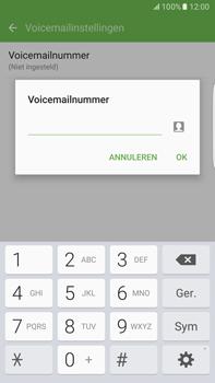 Samsung Samsung G928 Galaxy S6 Edge + (Android M) - Voicemail - Handmatig instellen - Stap 8