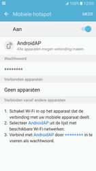 Samsung Galaxy S7 - WiFi - Mobiele hotspot instellen - Stap 12