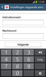 Samsung Galaxy S3 Mini VE (I8200N) - E-mail - Account instellen (IMAP met SMTP-verificatie) - Stap 15