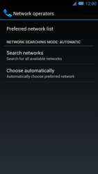 Acer Liquid S2 - Network - Usage across the border - Step 7