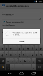 Acer Liquid Jade - E-mail - Configuration manuelle - Étape 15