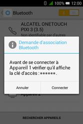 Alcatel Pixi 3 - 3.5 - Bluetooth - Jumeler avec un appareil - Étape 7