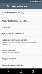 Sony Xperia X (F5121) - Voicemail - Handmatig instellen - Stap 5