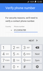 Samsung G389 Galaxy Xcover 3 VE - Applications - Create an account - Step 8