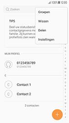 Samsung Galaxy A5 (2016) - Android Nougat - Contactgegevens overzetten - delen via Bluetooth - Stap 5