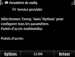 Nokia E6-00 - MMS - Configuration automatique - Étape 5
