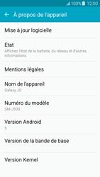 Samsung J500F Galaxy J5 - Réseau - Installation de mises à jour - Étape 6