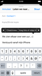 Apple iPhone 5s - iOS 11 - E-mail - hoe te versturen - Stap 10