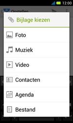 Acer Liquid Z4 - E-mail - Hoe te versturen - Stap 11