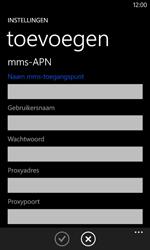 Nokia Lumia 625 - MMS - Handmatig instellen - Stap 11