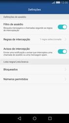 Huawei P8 Lite - Chamadas - Bloquear chamadas de um número -  6