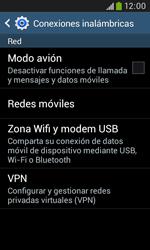 Samsung S7580 Galaxy Trend Plus - Mensajería - Configurar el equipo para mensajes multimedia - Paso 5