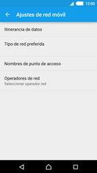 Sony Xperia M4 Aqua - Red - Seleccionar una red - Paso 6