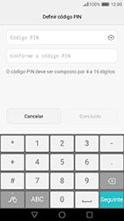 Huawei P9 - Segurança - Como ativar o código de bloqueio do ecrã -  7