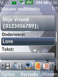 Nokia 7210 supernova - MMS - Afbeeldingen verzenden - Stap 10