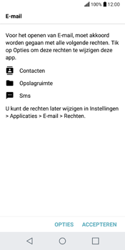 LG Q6 (M700) - E-mail - Account instellen (POP3 met SMTP-verificatie) - Stap 21