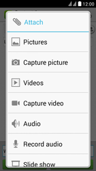Huawei Y625 - MMS - Sending pictures - Step 11