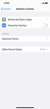 Apple iPhone X - iOS 13 - Email - Como configurar seu celular para receber e enviar e-mails - Etapa 4