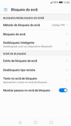 Huawei P10 - Segurança - Como ativar o código de bloqueio do ecrã -  11