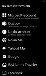 Nokia Lumia 925 - E-mail - Account instellen (POP3 zonder SMTP-verificatie) - Stap 6
