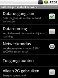LG P350 Optimus Me - Internet - buitenland - Stap 6