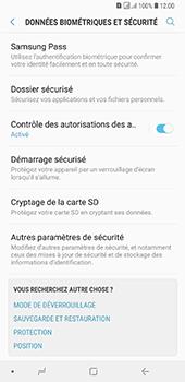 Samsung Galaxy A7 (2018) - Sécurité - modifier SIM PIN - Étape 5