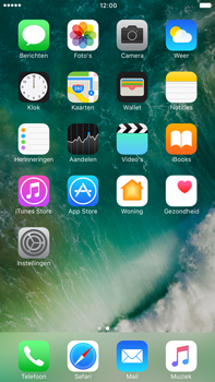 Apple Apple iPhone 6s Plus iOS 10 - iOS features - Verwijder en herstel standaard iOS-apps - Stap 6