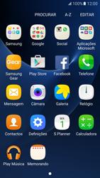 Samsung Galaxy S7 - SMS - Como configurar o centro de mensagens -  3