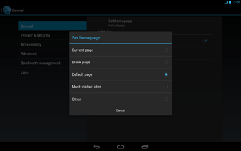 Acer Iconia Tab A3 - Internet - Manual configuration - Step 24