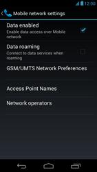 Acer Liquid E1 - Network - Usage across the border - Step 6