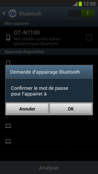 Samsung N7100 Galaxy Note II - Bluetooth - connexion Bluetooth - Étape 9